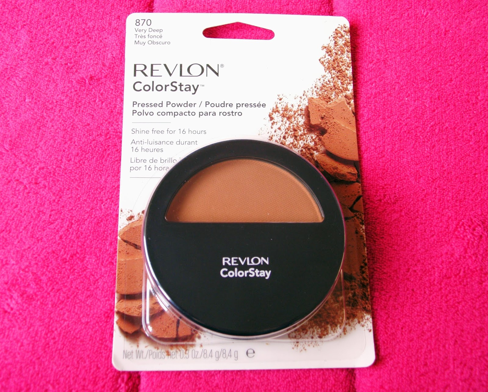 Revlon Colorstay Pressed Powder in the shade 870 Very Deep