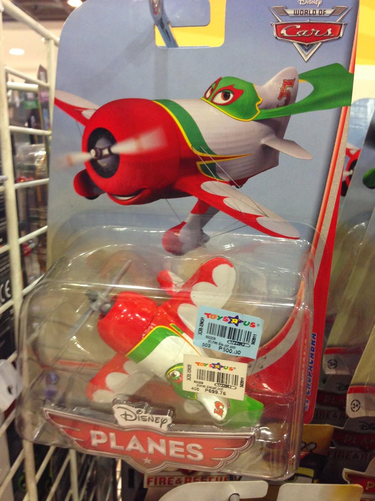 Toy Sale in Manila, Philippines 2015 : Disney Planes Die-Cast Toys on SALE (El Chupacabra)