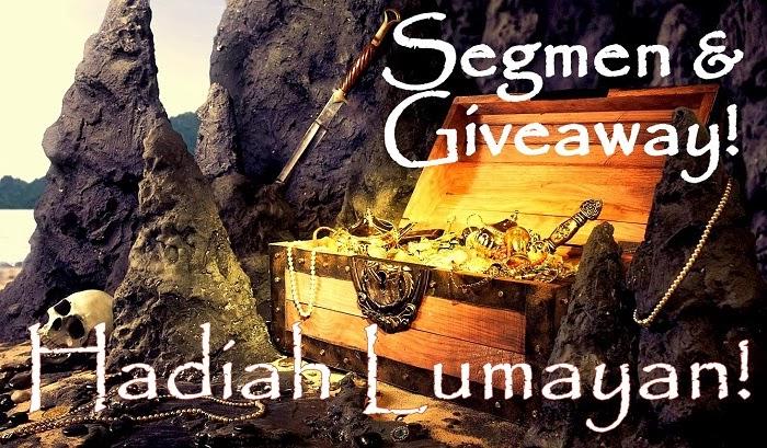 Segmen & Giveaway (GA) - Hadiah Lumayan!