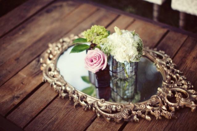 espejo boda decoración mirror wedding decoration