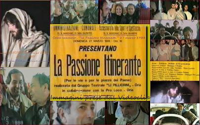 """- come eravamo... """"la Passione itinerante del 27.3.1988 a San Marzano di S.G.""""... il video"""""""