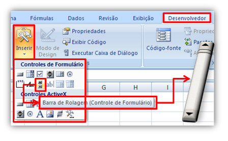 tabela, dados, Excel