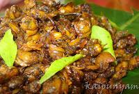 Kakka Irachi (Clam) Fry