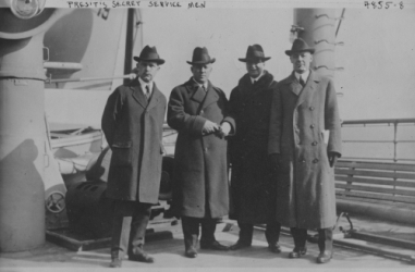 Early 1900's Secret Service