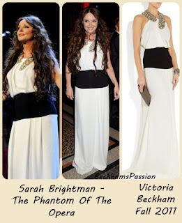 vestido de fiesta colección Victoria Beckham