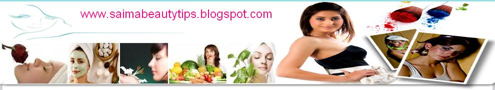 SAIMA  BEAUTY SALON AND EASY BEAUTY TIPS