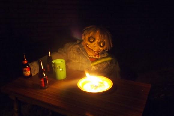 Halloween spookwandeling