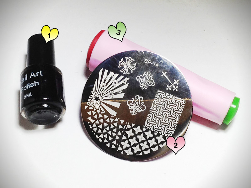 Stamping Polish, Image Plate, Dual Stamper by Bornprettystore.com