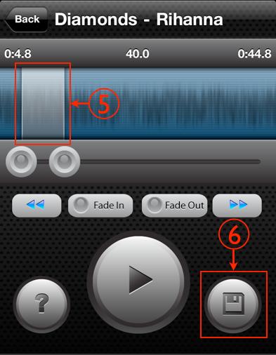 Cómo hacer para colocar una canción de tono en el iPhone 4