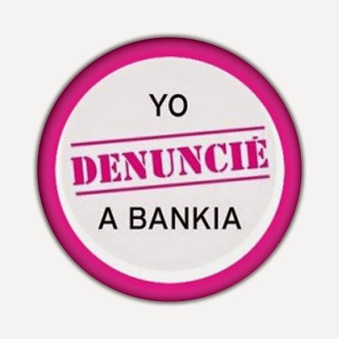 Chapa yo denuncia a Bankia