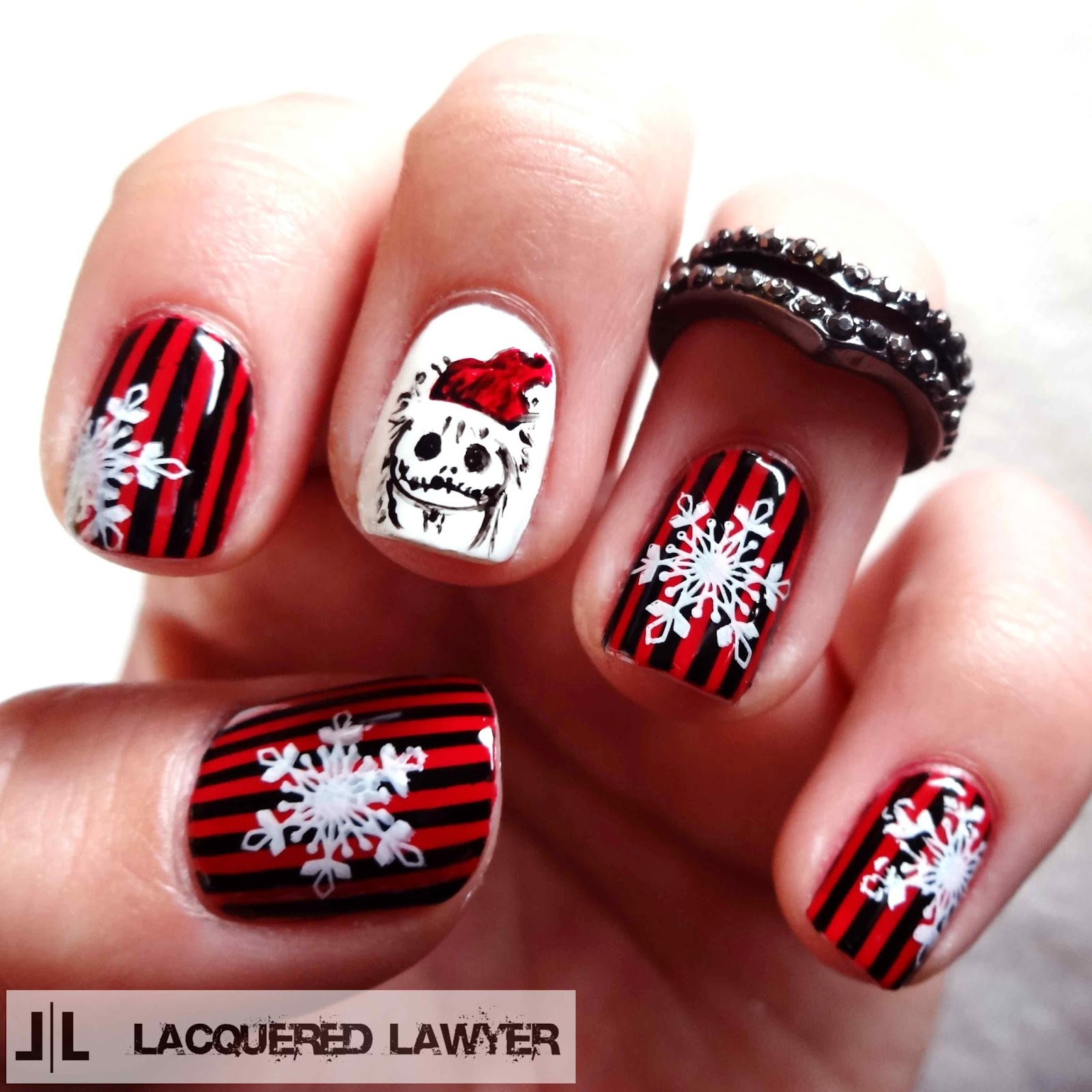 Lacquered Lawyer Nail Art Blog Sandy Claws