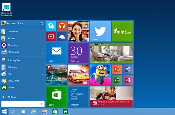 Windows 10 Technical Preview - Technocratvilla