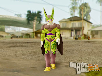 Skin Cell Perfect - Dragon Ball Xenoverse para GTA San Andreas