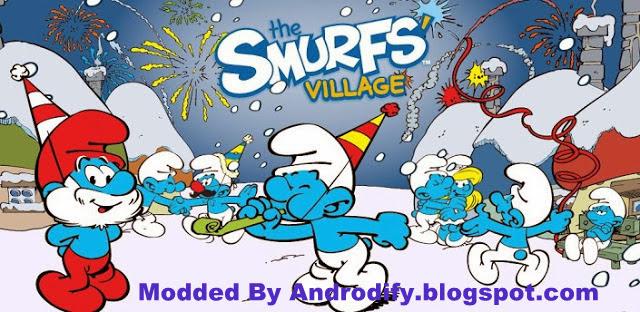 Smurfs' Village Apk Data v1.3.0 [Mod Money] -Free Download