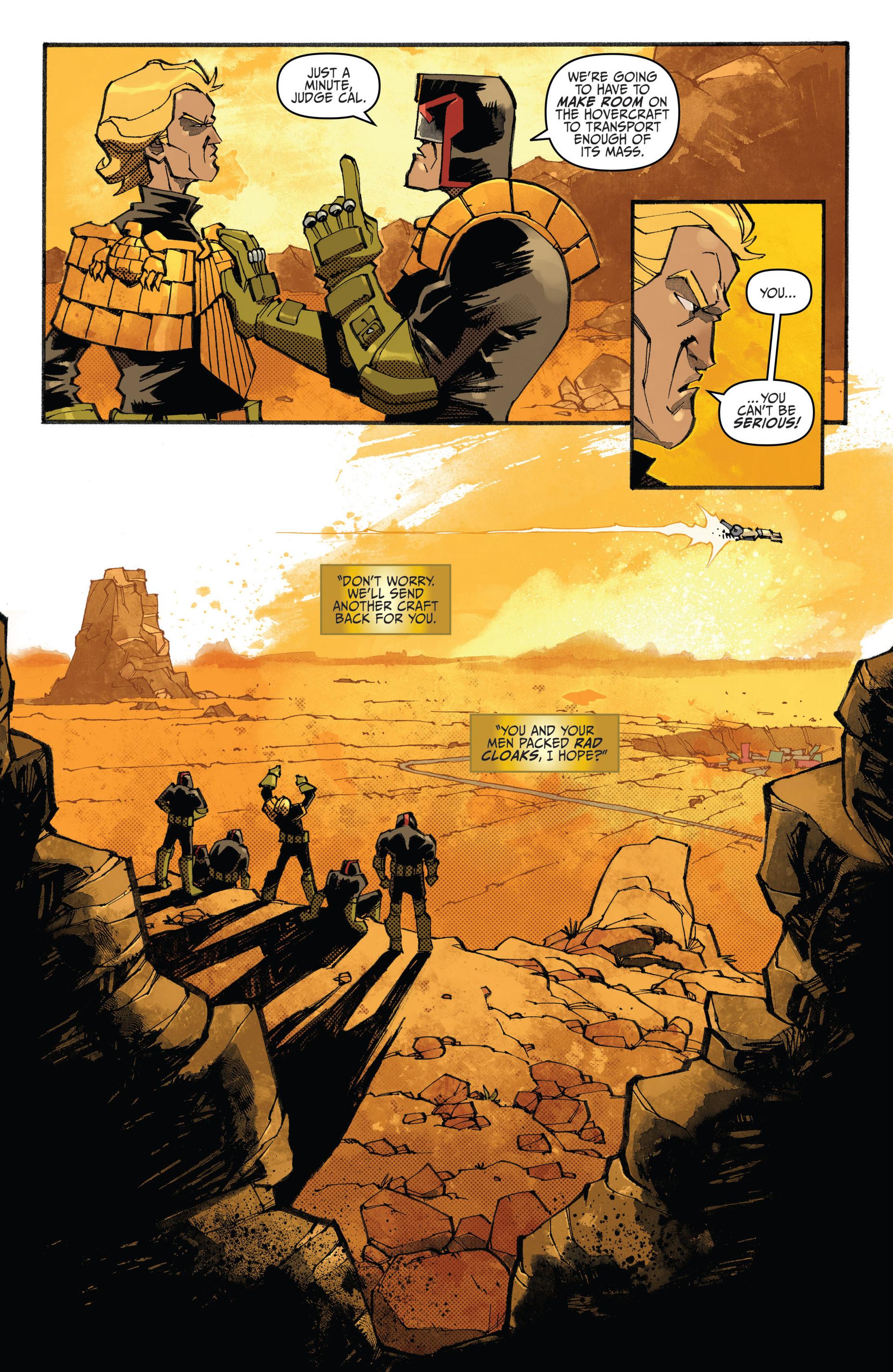 Read online Judge Dredd (2012) comic -  Issue #20 - 11