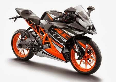 Gambar motor sport KTM RC 125