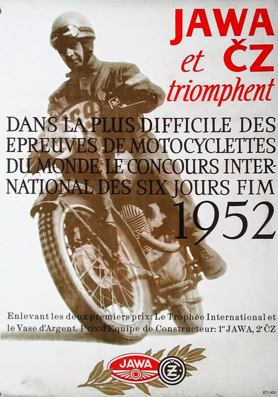 Plakat Jawa (Francja)