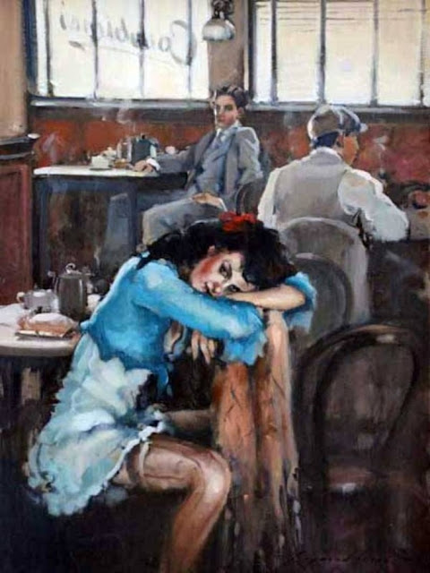Raymond Leech 1949 | British impressionist painter
