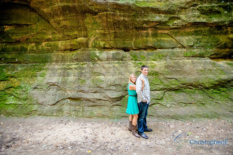 Starved Rock Engagement Photo
