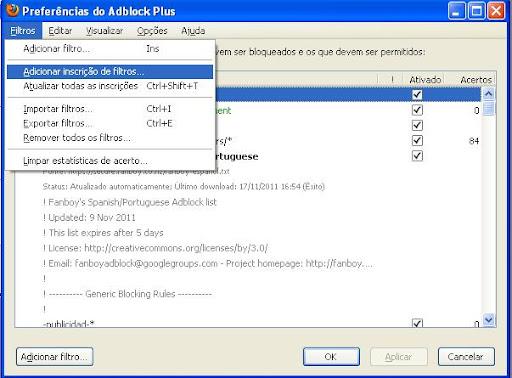 adblock filtros