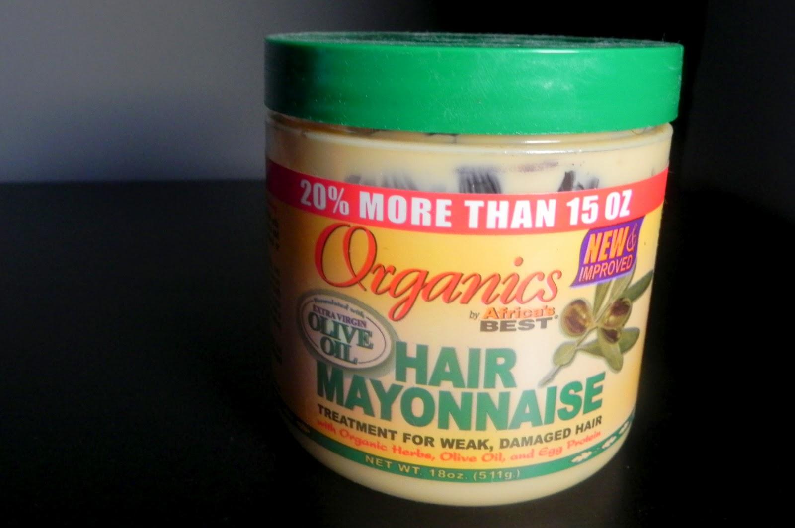 mayonaise haarmasker