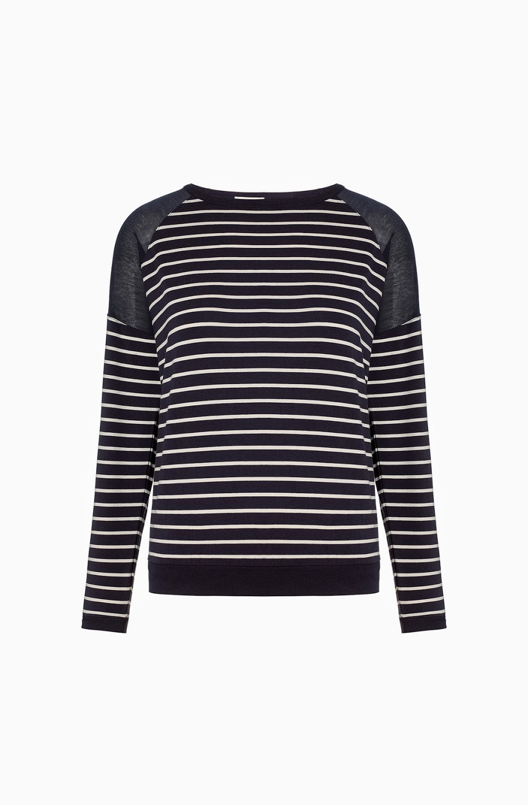whistles stripe top