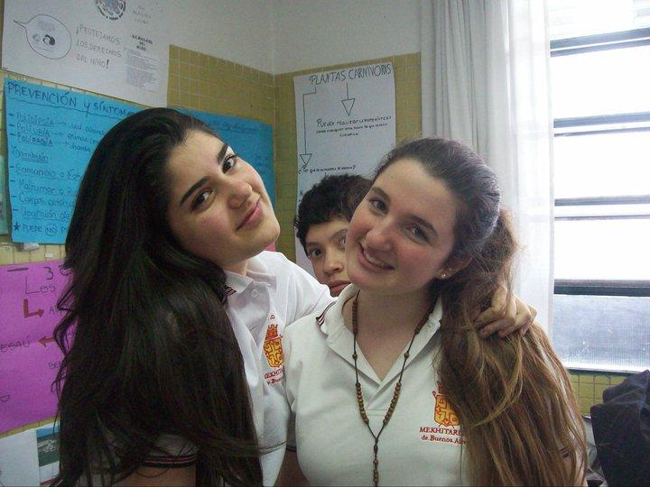Gariné Chorbadjian y Naiara Rodríguez Padilla