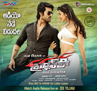 Ramcharan Bruce Lee Movie Audio Release Posters