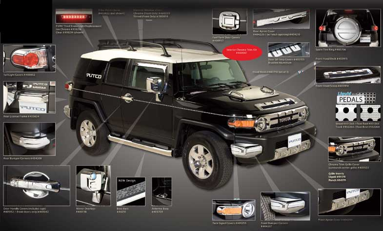 Toyota Car Accessories Myautoshowroom