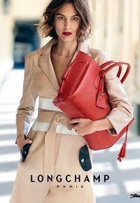 LONGCHAMP X Alexa Chung SS2016 Ad Campaign