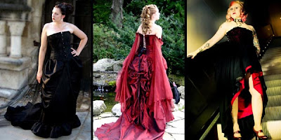 gothic wedding dresses personalize your huge day