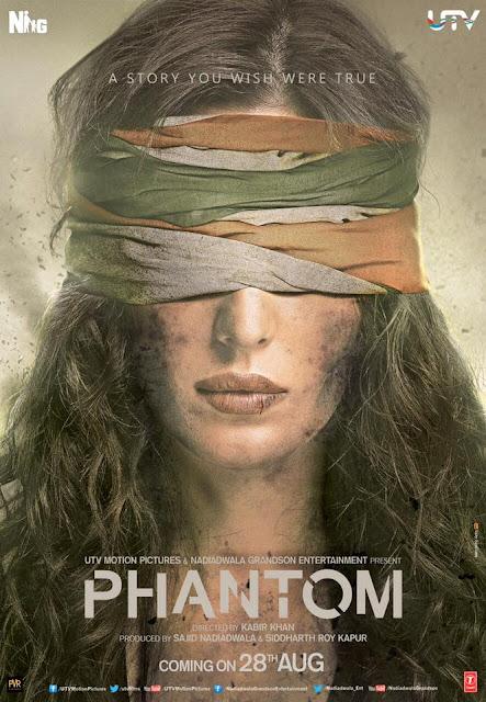 Phantom Movie First Look Posters