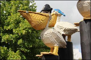 Pirat-pelikaner i Piratland.