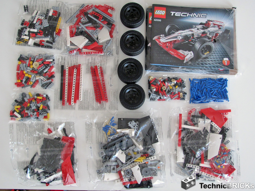 Technicbricks Tbs Techreview 22 42000 Grand Prix Racer