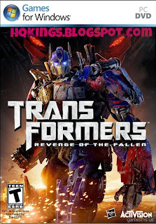 Transformers Revenge of the Fallen PC Game