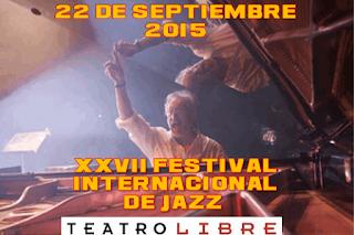 Festival Internacional de Jazz 2015 del teatro libre presenta a Edy Martínez y su Quinteto
