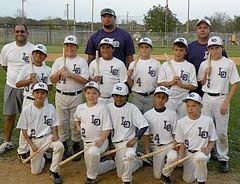 Tournament Champions - 11 & Under DS Select Baseball, Nov 2009