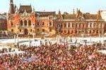 † Coaliția pentru Familie: Adunare publică în Piața Unirii din Oradea
