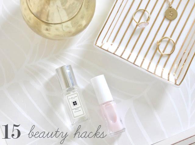15 Beauty hacks
