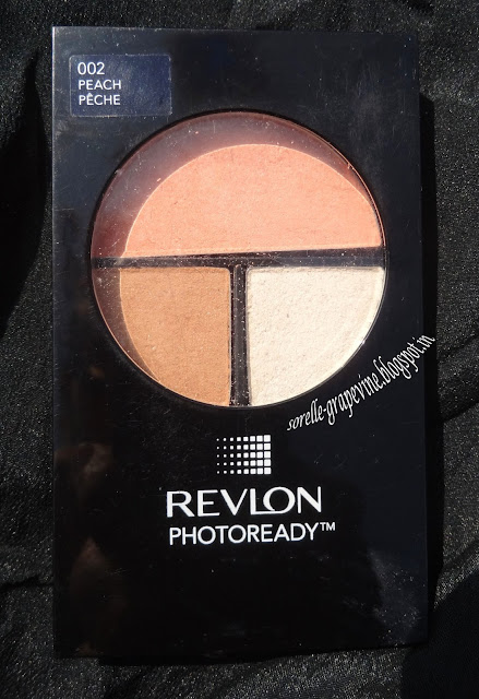 Revlon PhotoReady Sculpting Blush Palette Peach