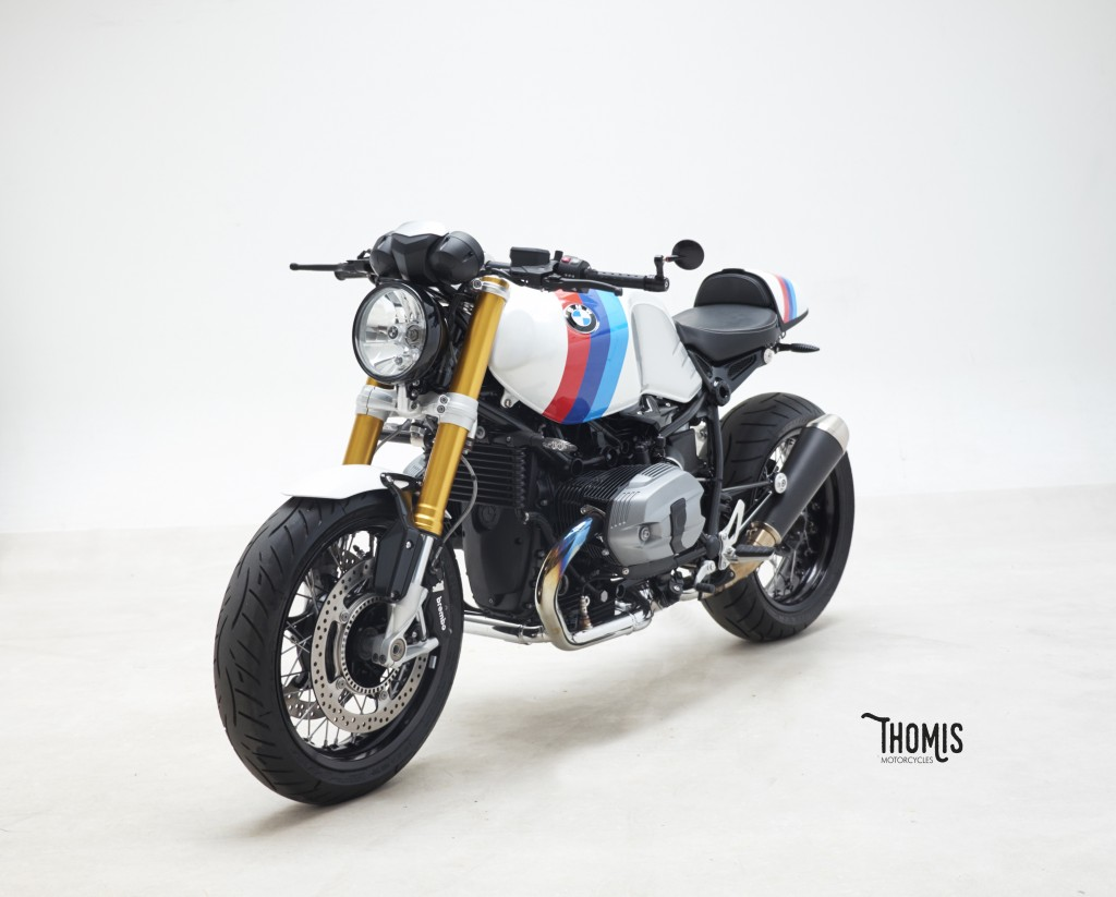 racing caf bmw r ninet caf racer m power by thomis. Black Bedroom Furniture Sets. Home Design Ideas