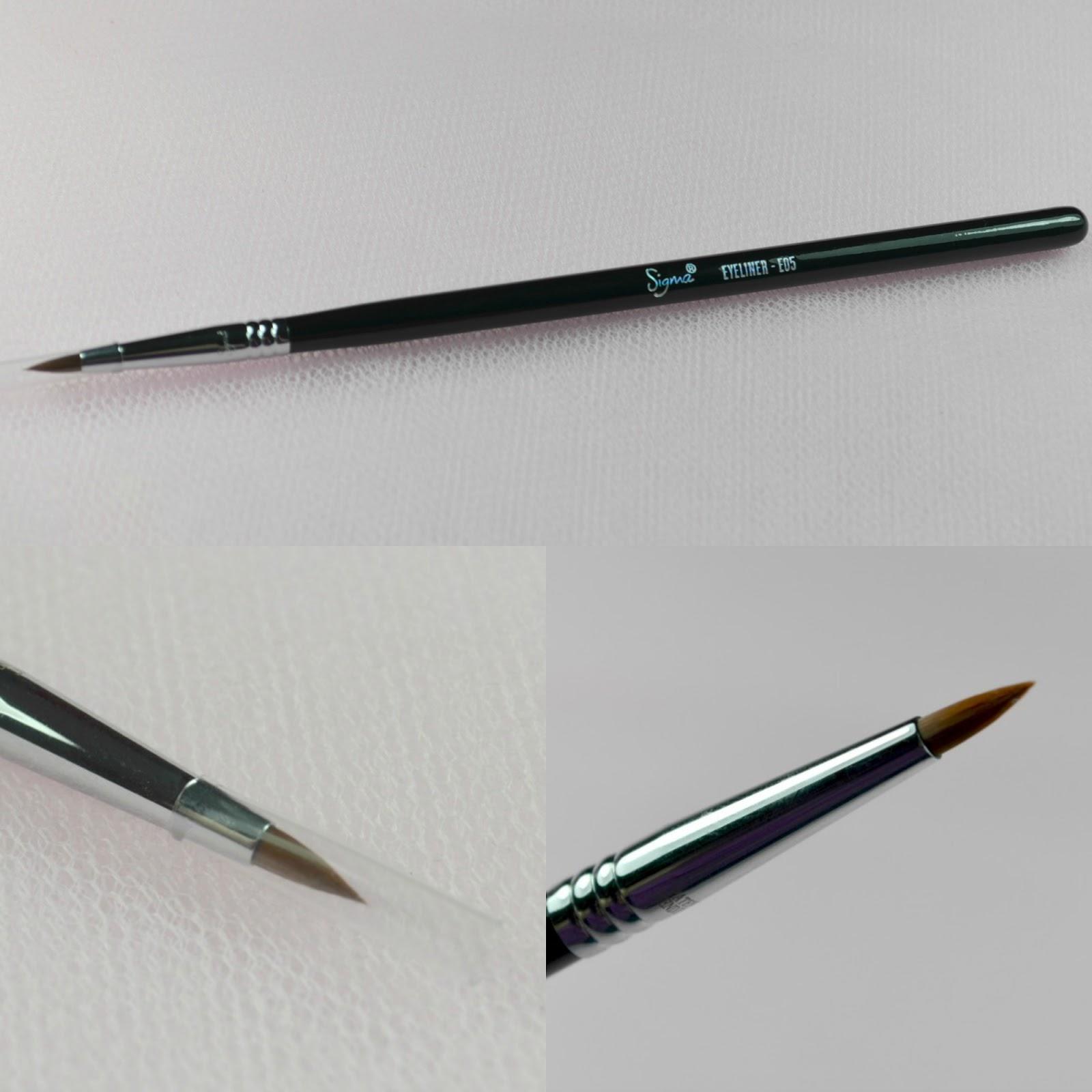 Thinnest Eyeliner Brush Sigma Eyeliner E05 Brush