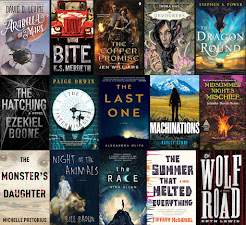 2016 Debut Author Challenge Cover Wars - July Debuts