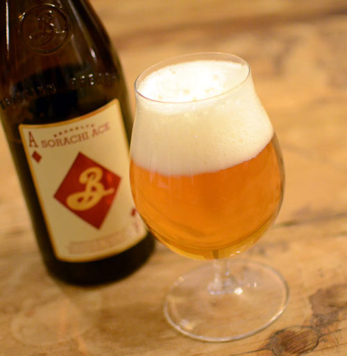 Sorachi Ace Brooklyn Brewery