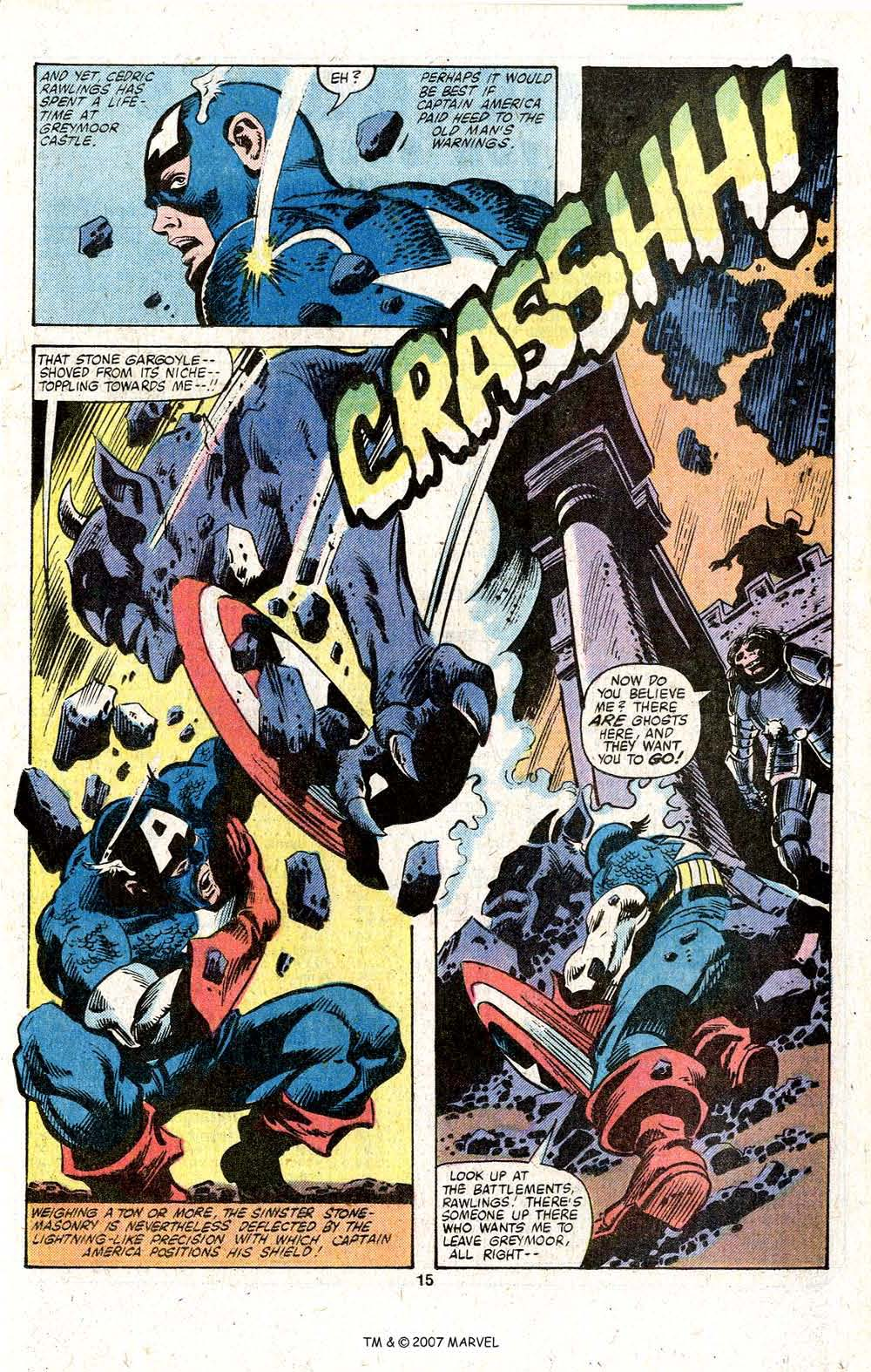Captain America (1968) Issue #256 #171 - English 17