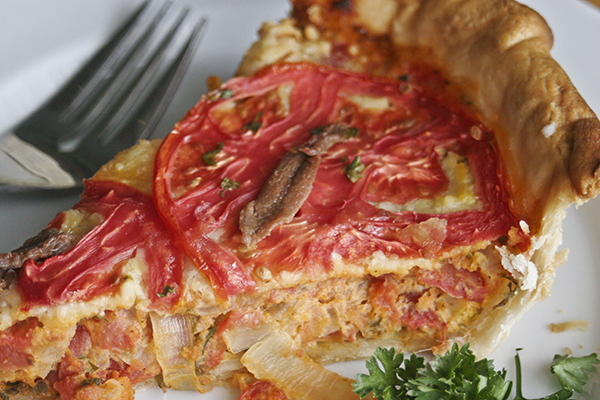 Provencal Tomato Quiche Recipe Julia Child