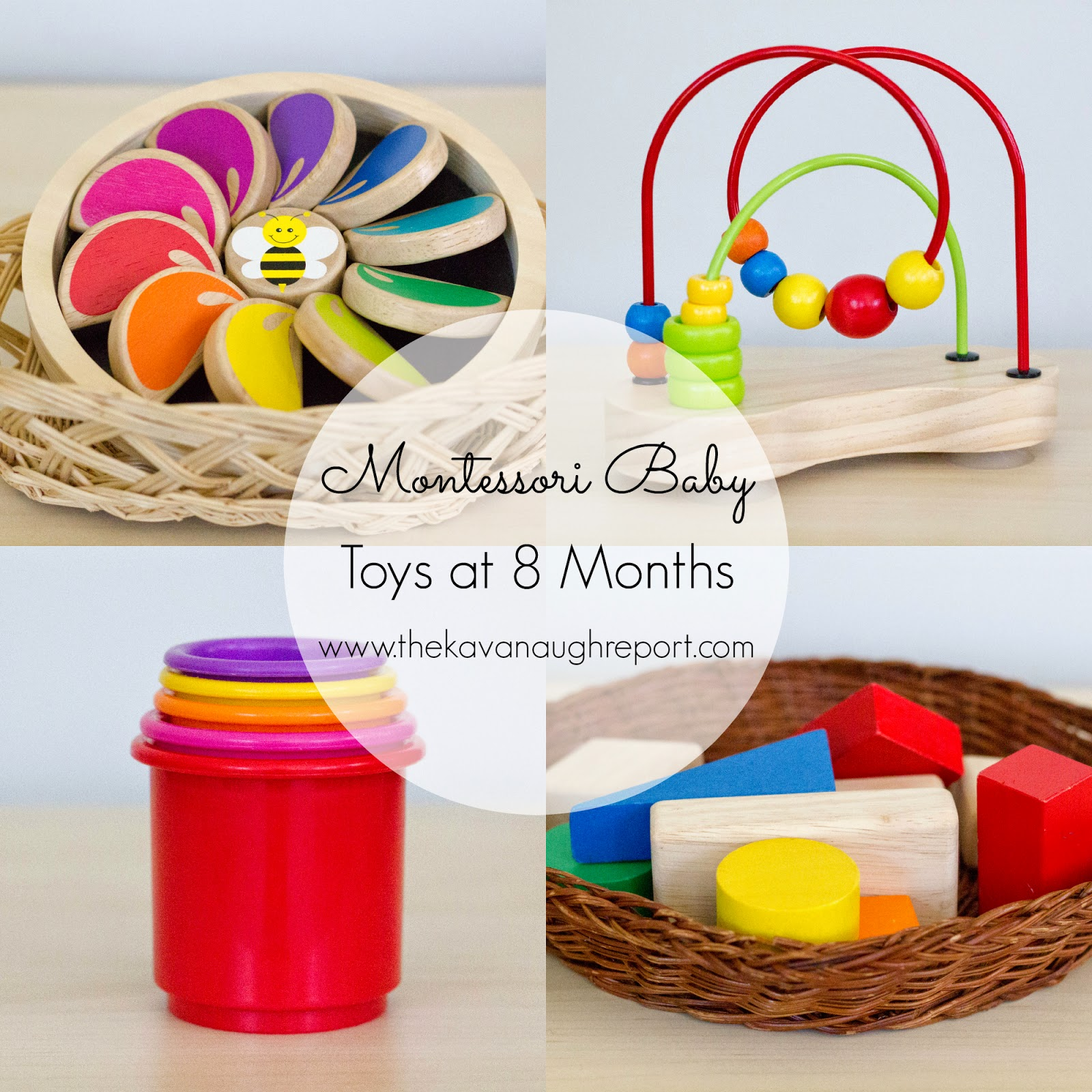Toys For 8 Months : Montessori baby toys to months