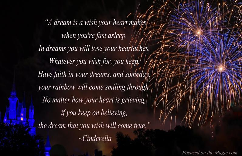 Disney Quote | Focused on the Magic