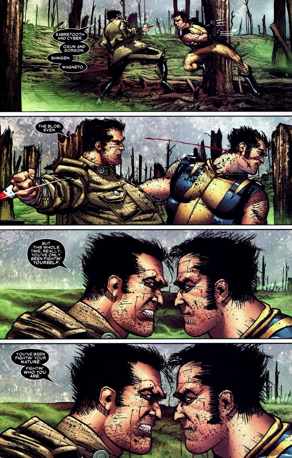 Read online Wolverine (2003) comic -  Issue #59 - 13