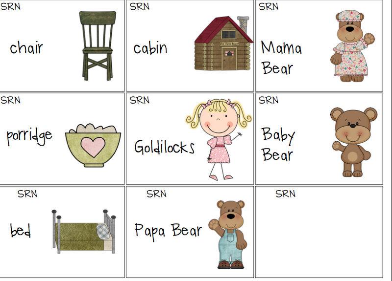 All Worksheets 187 Goldilocks And The Three Bears Worksheets